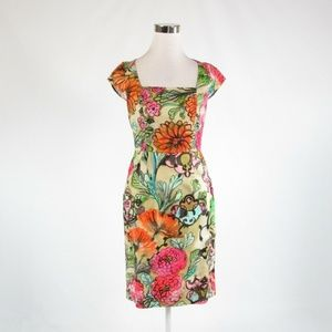 Multicolor MILLY  cap sleeve dress 6